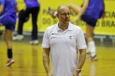 Morten Soubak, técnico da seleção brasileira feminina de handebol