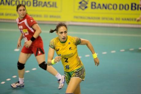 Fabiana Diniz, a Dara, é capitã da Seleção
